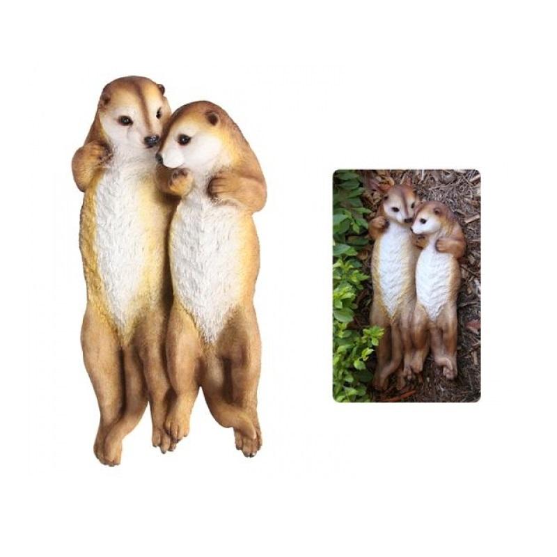 Floating Meerkat Couple