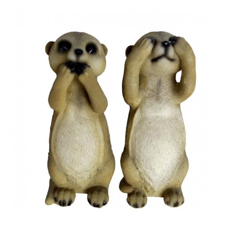 Small Standing Meerkat